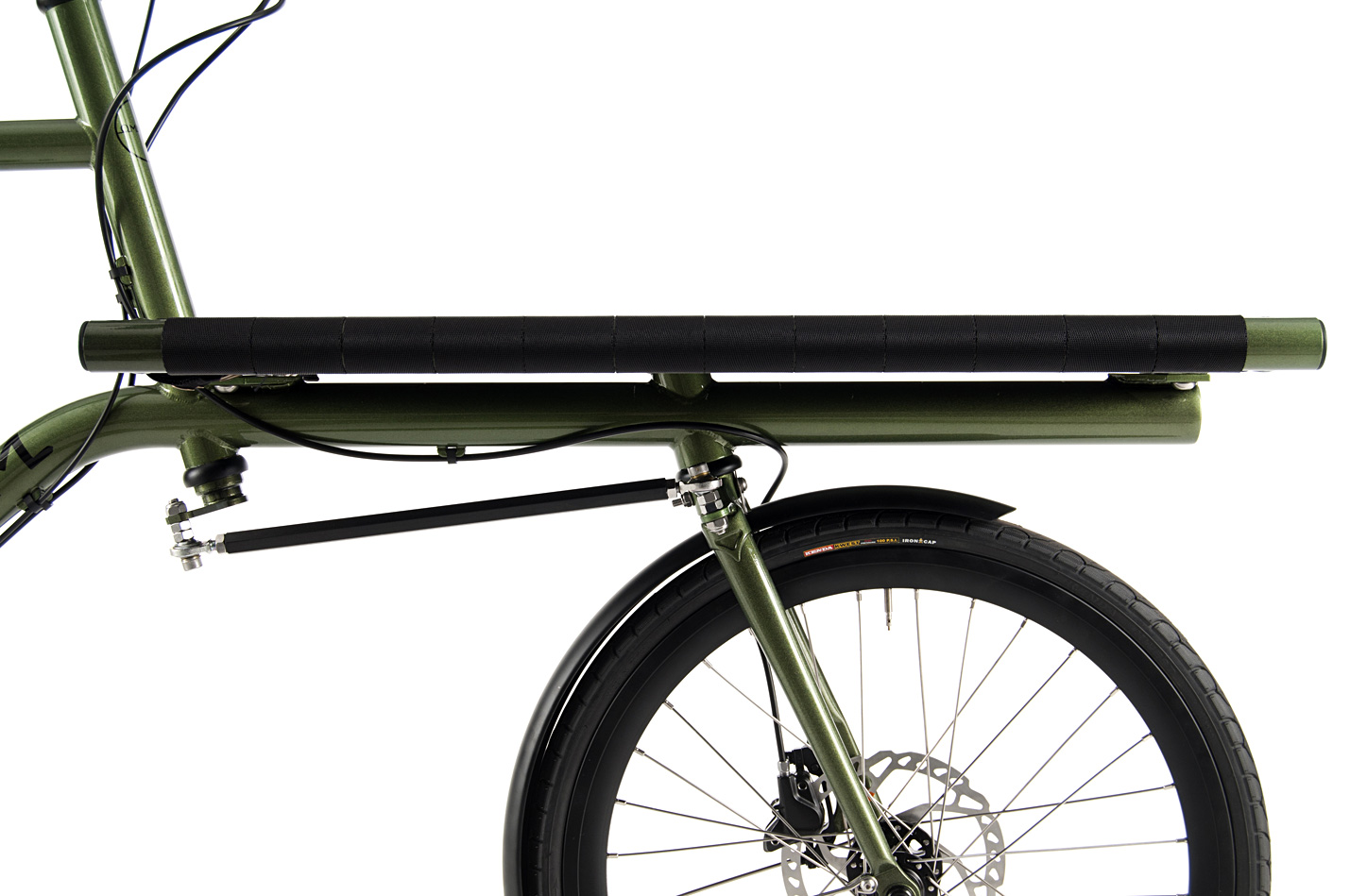 Omnium Mini-Max Sideview Front Rack