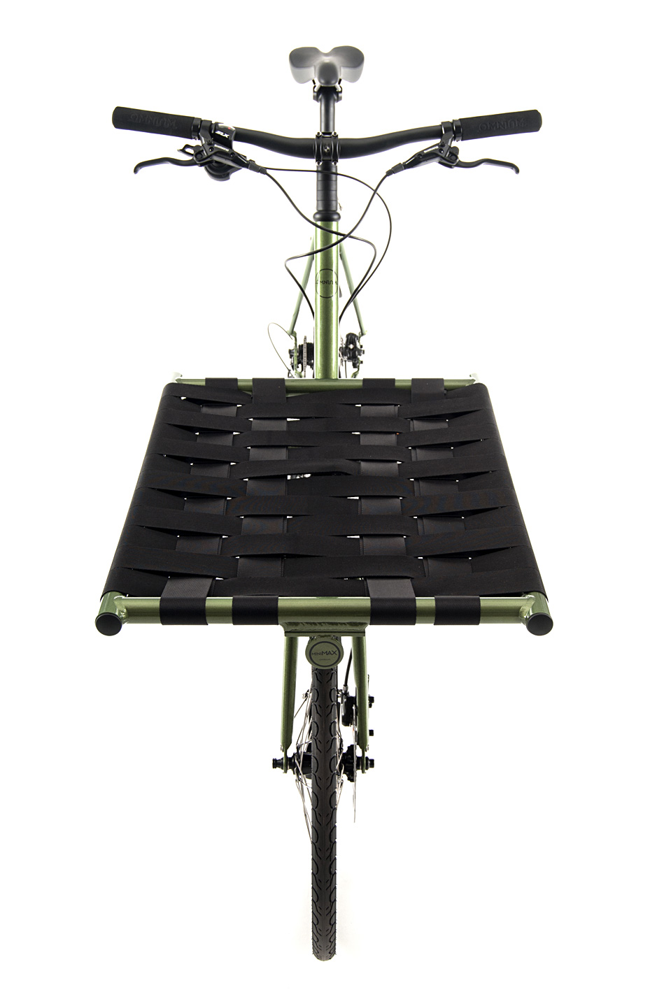Omnium Mini-Max front view with webbing